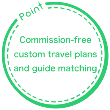 Point: Commission-free custom travel plans and guide matching